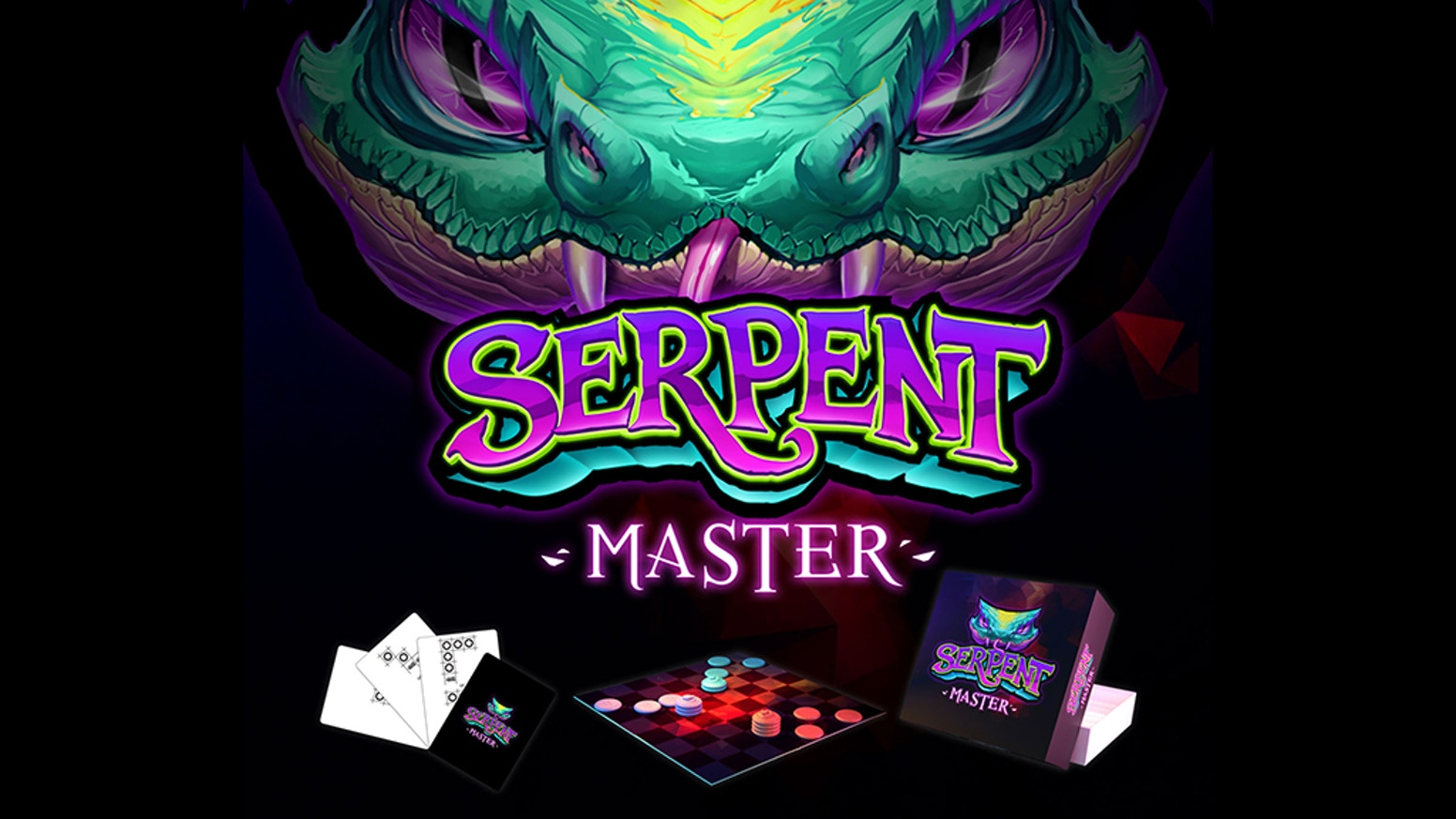 Serpent Master -- A fun, light game of trying to be on top and stay on top. Game includes simultaneous play with a strategic element.