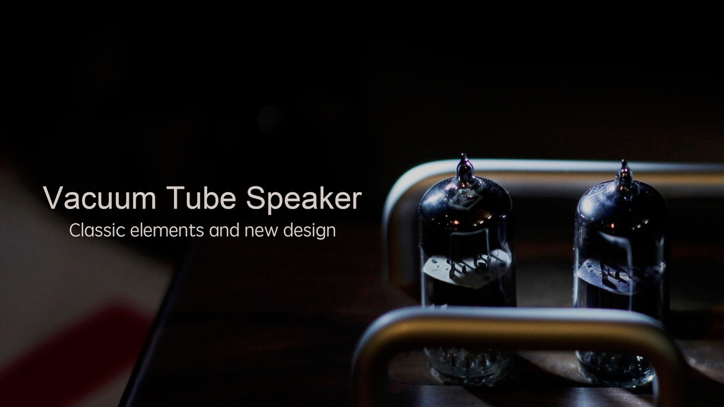 Eye1: Vacuum Tube Speaker project video thumbnail