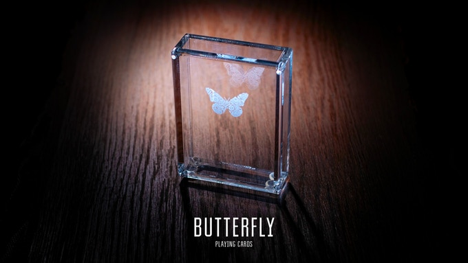 Butterfly Playing Cards Black by Ondrej Psenicka — Kickstarter