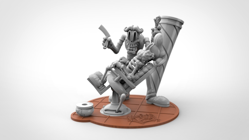 Johnny Voodoos Resin Model Kit Designed by Shawn Dickinson project video thumbnail