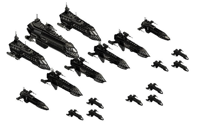 All the ships included in the Grand Fleet pledge