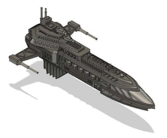 Hastatii Light Cruiser