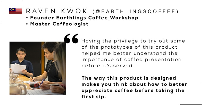 Raven Kwok, Founder of Earthlings Coffee Workshop