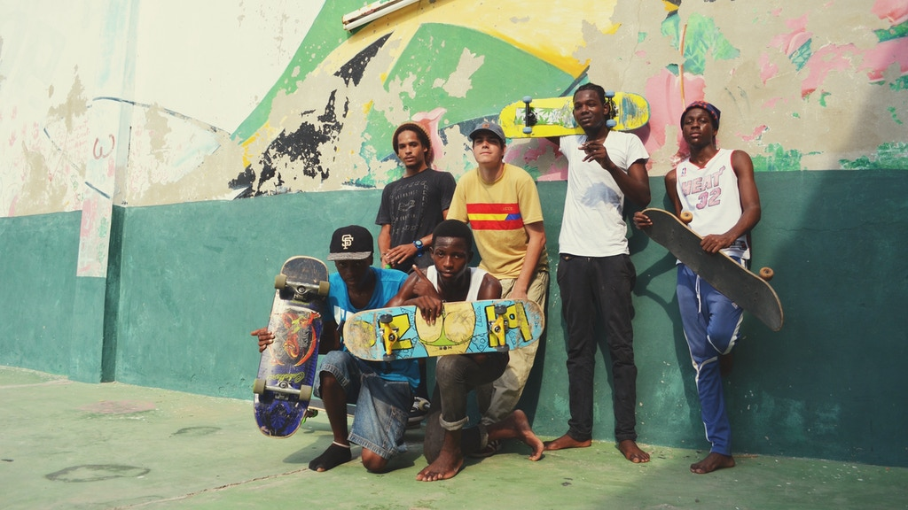 Freedom Skatepark Youth Centre, Jamaica project video thumbnail
