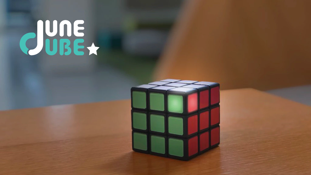 Smart Rubik's Cube with mobile apps project video thumbnail