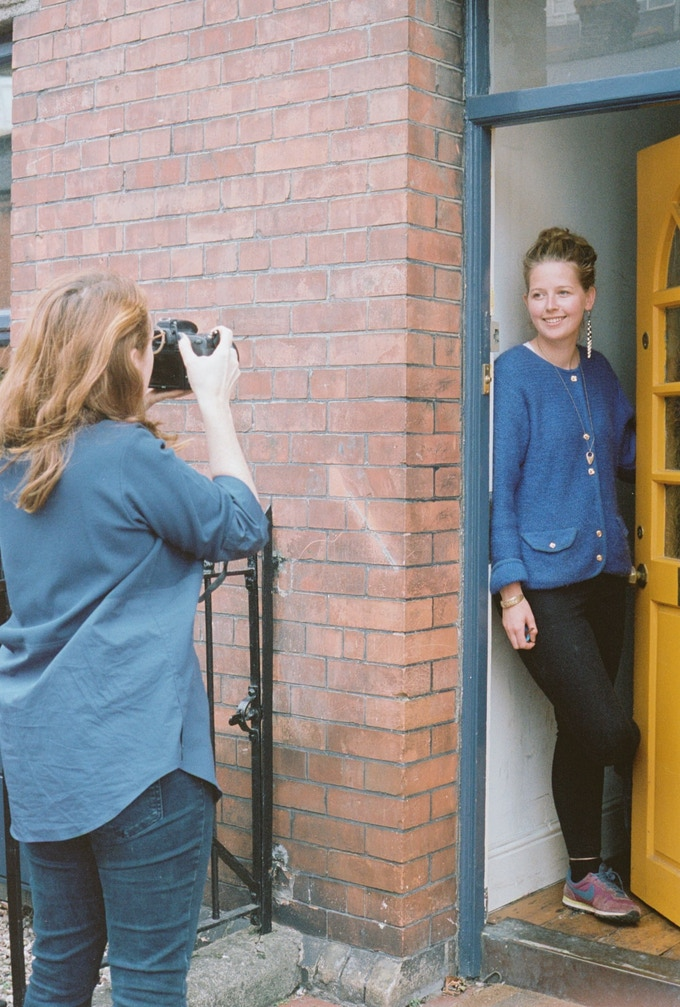 Ruth Connolly photographing Katie Sanderson for Issue Four: Women.