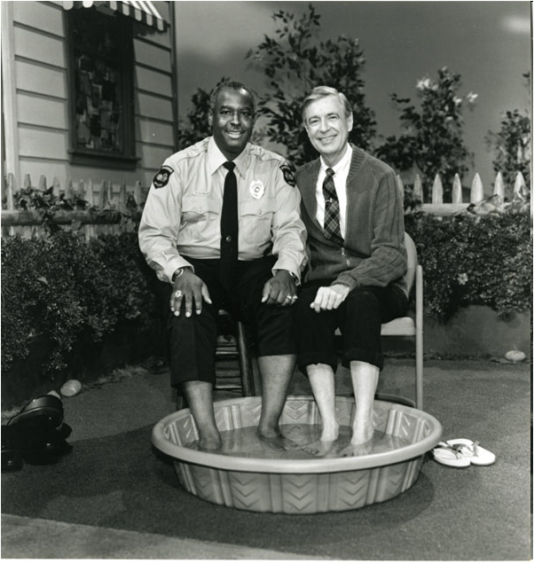 Our inspiration: The wonderful Fred Rogers in Mr Rogers' Neighbourhood (Credit: Dr. François S. Clemmons)
