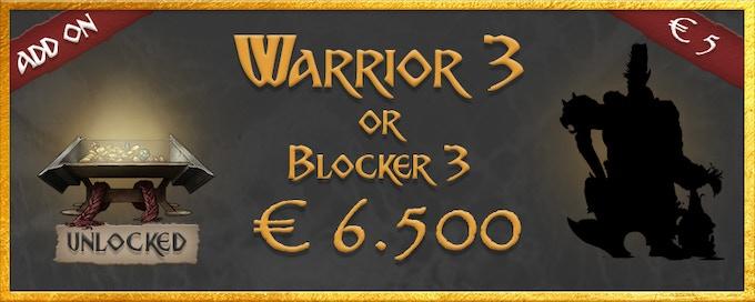 Warrior 3 or Blocker 3