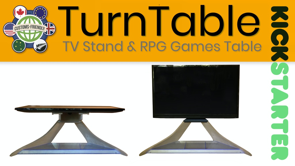 TurnTable: RPG Map Table and TV Stand project video thumbnail