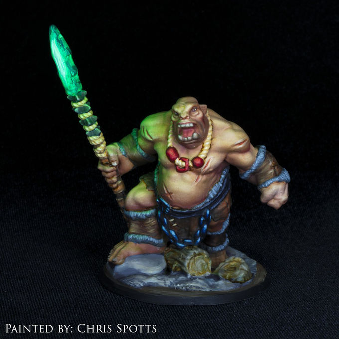 Stretch Goal Ogre (Painted by Chris Spotts)