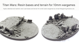 Titan Wars: Resin bases and terrain for 10mm wargames thumbnail
