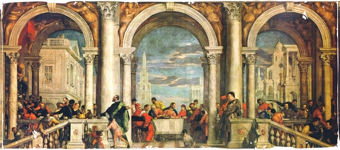 Paolo Veronese - The Feast in the House of Levi - (Public Domain Mark)