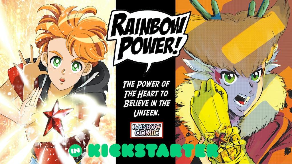 Project image for anime style comic RAINBOW STARS English translation