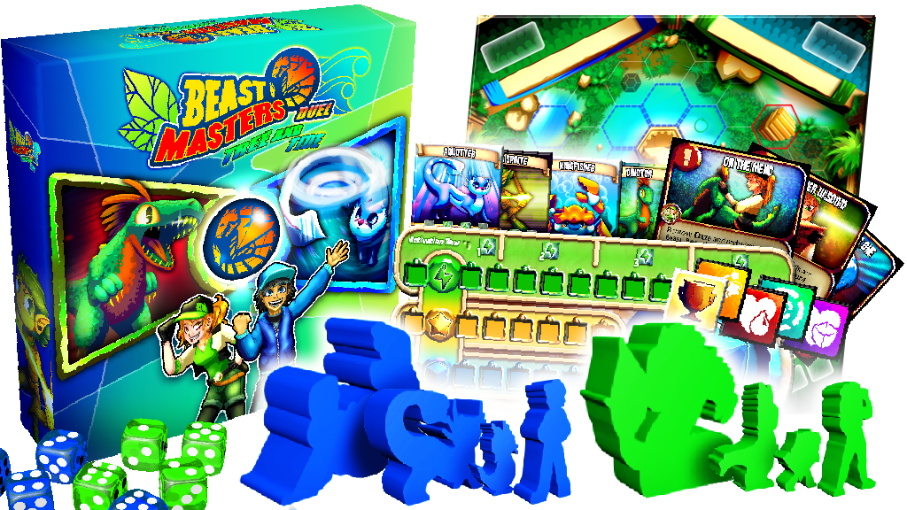 Beast Masters Duel: Tree and Tide with Custom Meeples! project video thumbnail