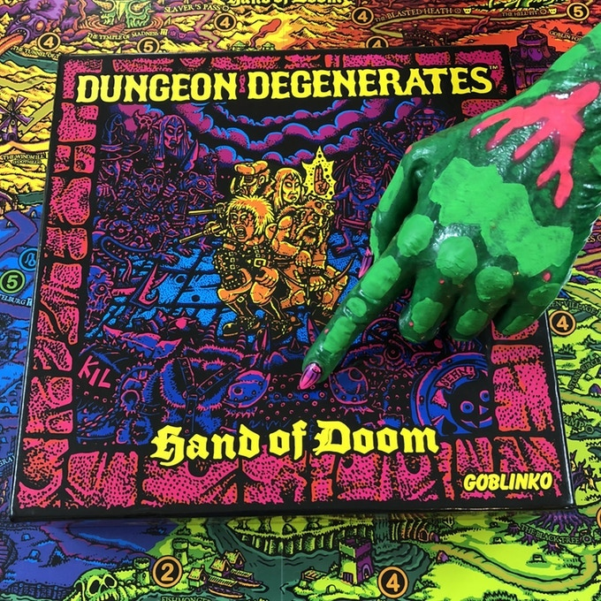 DUNGEON DEGENERATES: HAND OF DOOM THIRD PRINTING