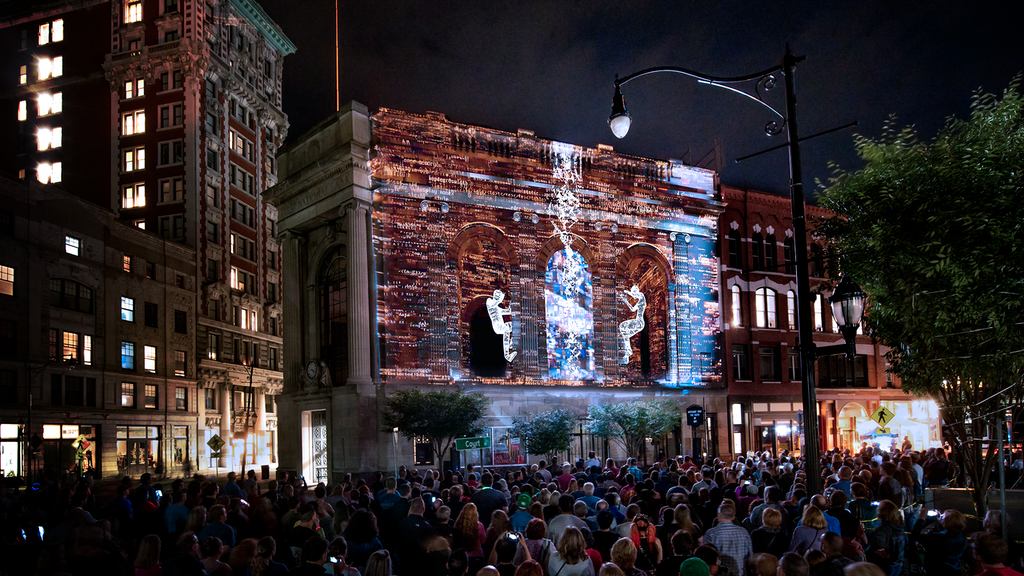 LUMA Projection Arts Festival: Year 5 project video thumbnail