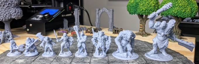 Goblins to Ettins - with matching scaling & proportions?!