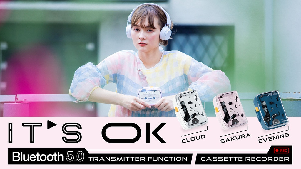 IT'S OK - Bluetooth 5.0 Cassette Player project video thumbnail