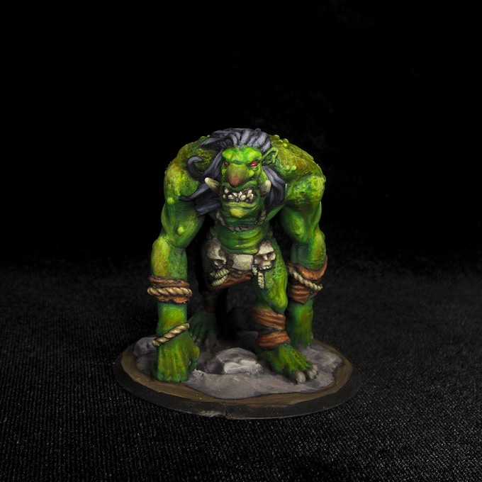 Troll Stretch Goal - Painted by Chris Spotts