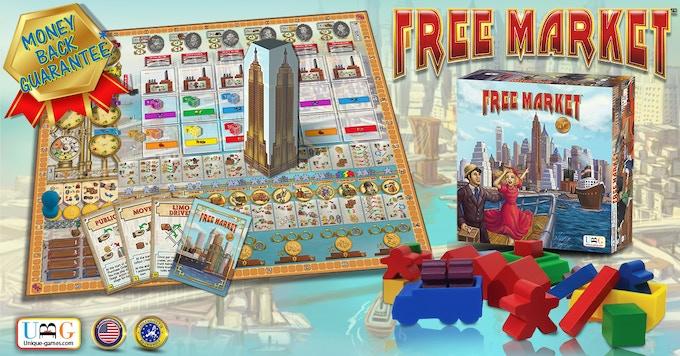 FREE MARKET - MONEY BACK GUARANTEE* - ONLY FOR KICKSTARTER BACKERS!