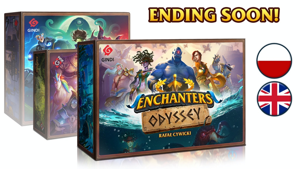 Enchanters: Odyssey + reprint project video thumbnail