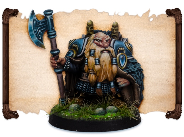 Jharuk painted by Robert Karlsson.  Note that figures come UNPAINTED.