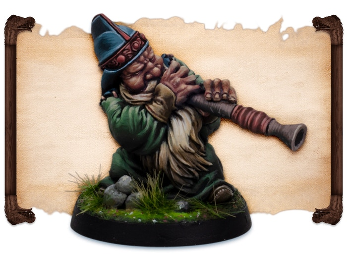 Dorvid painted by Robert Karlsson.  Note that figures come UNPAINTED.
