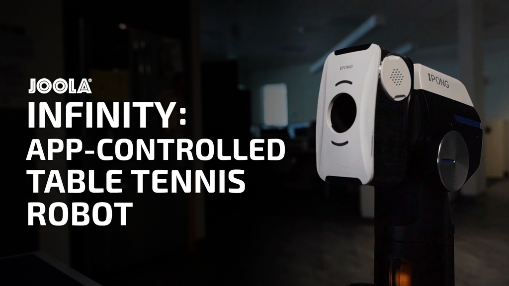 JOOLA Infinity: Smart Table Tennis Robot project video thumbnail