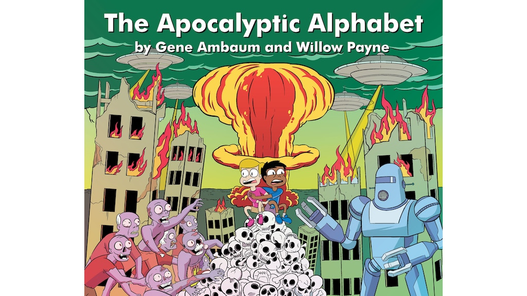 Project image for The Apocalyptic Alphabet Book
