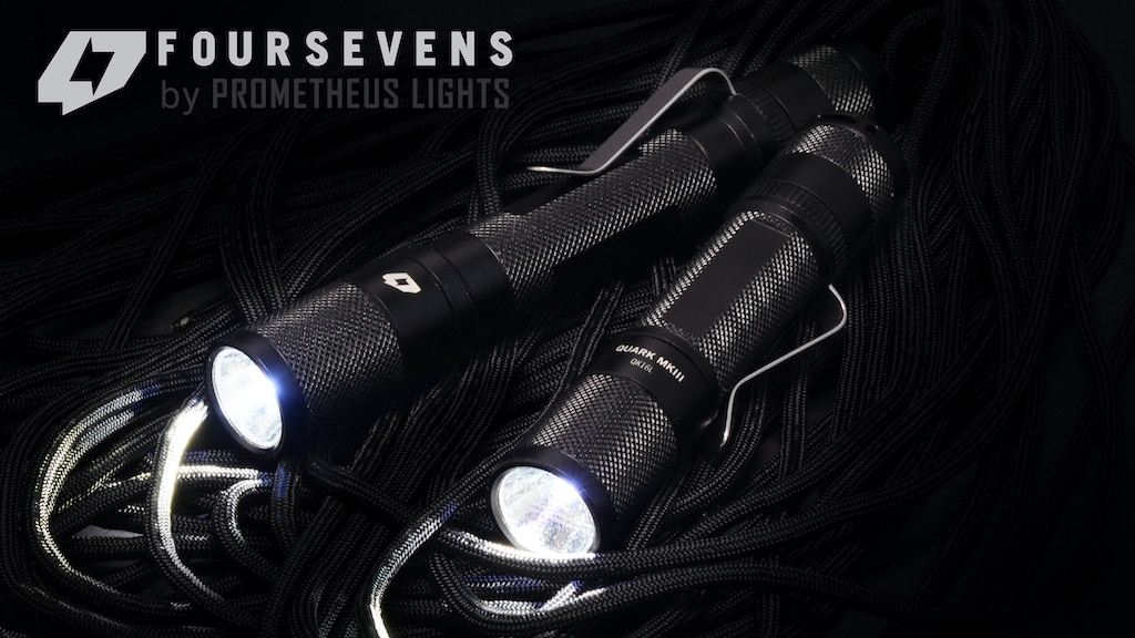 Foursevens Quark MKIII LED Flashlight: The Legacy Continues project video thumbnail