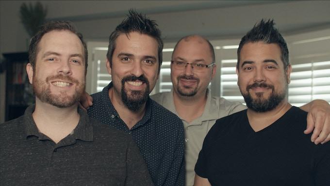 Brandon Perkins, Joel Augé, Tim Morrison, Jason Azevedo