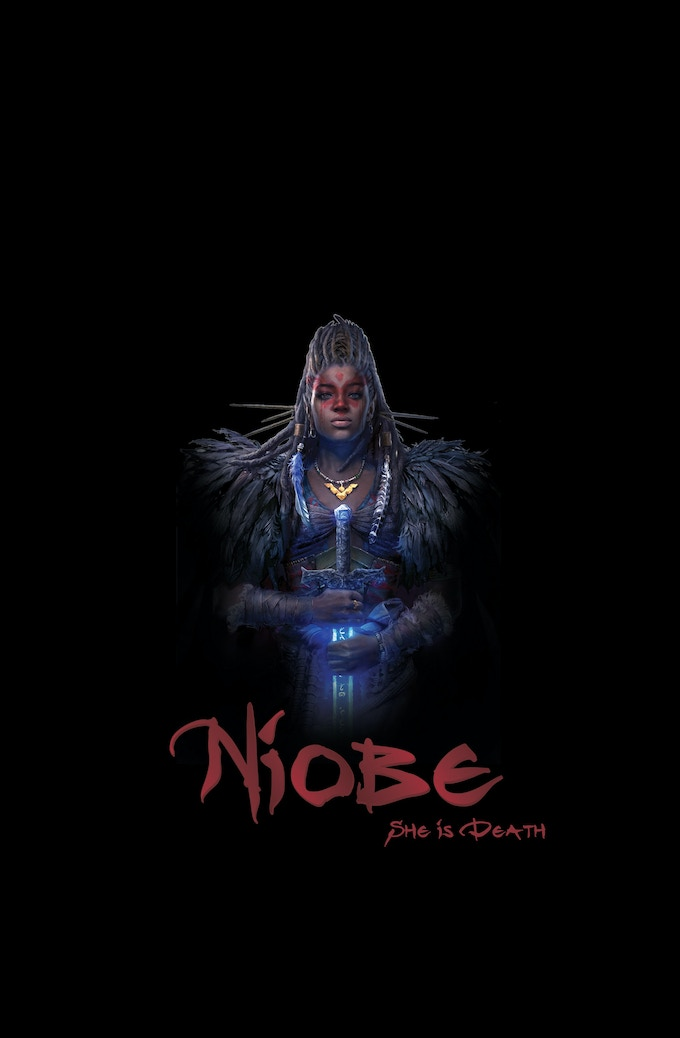 Niobe: She is Death Hardcover Art by Hyoung