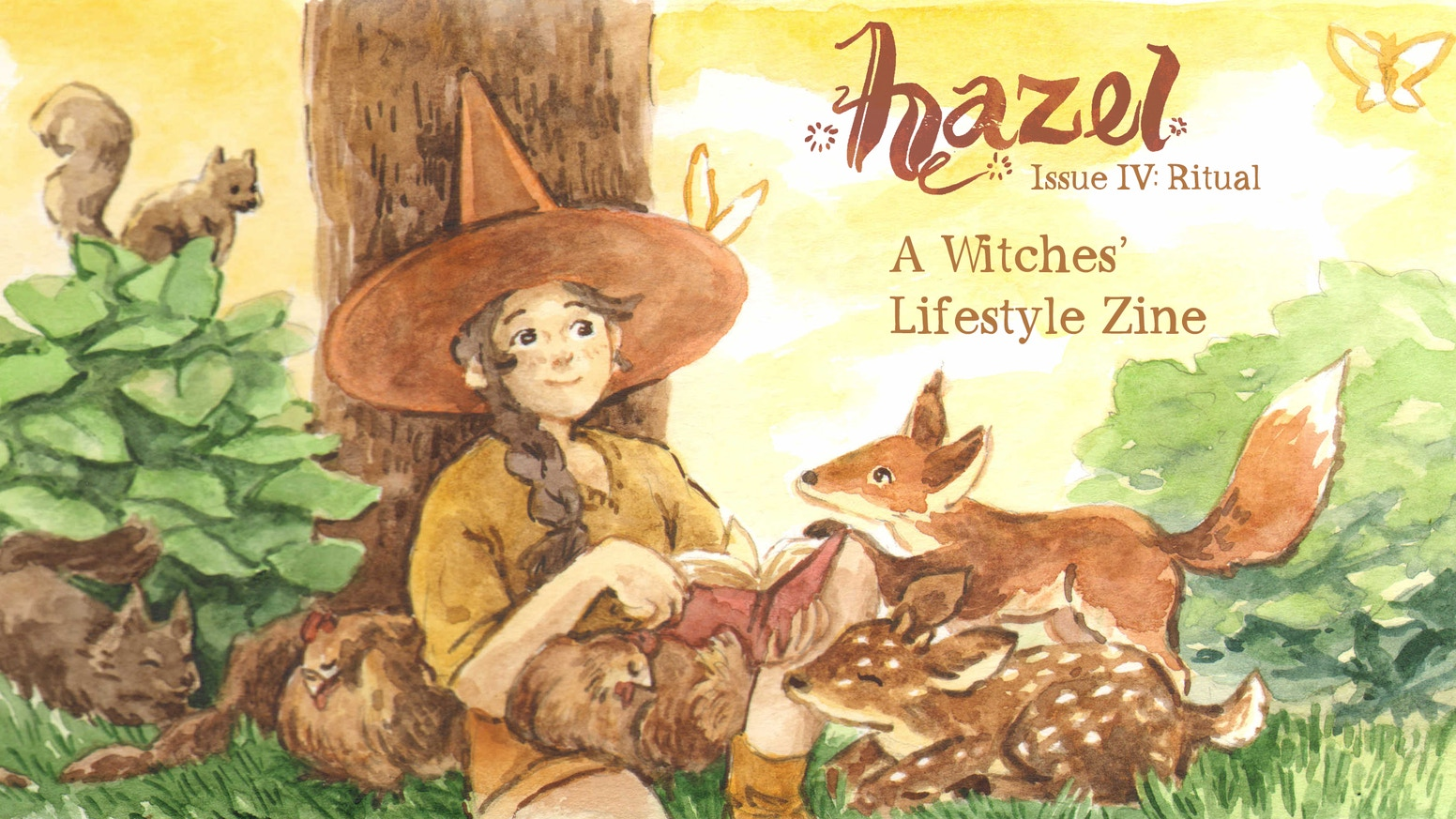 The fourth in a series of witches' lifestyle zines, collecting works of wonderfully talented artists for the young witch in training.