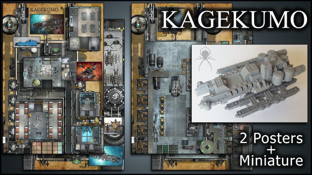 Kagekumo: Starship Maps & Miniature project video thumbnail