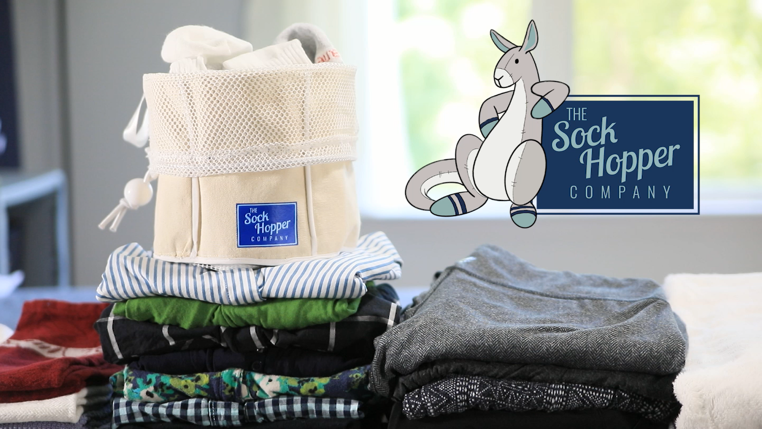 Never lose another sock! The Sock Hopper is an effortless, elegant, and high quality way to manage your socks when being washed.
