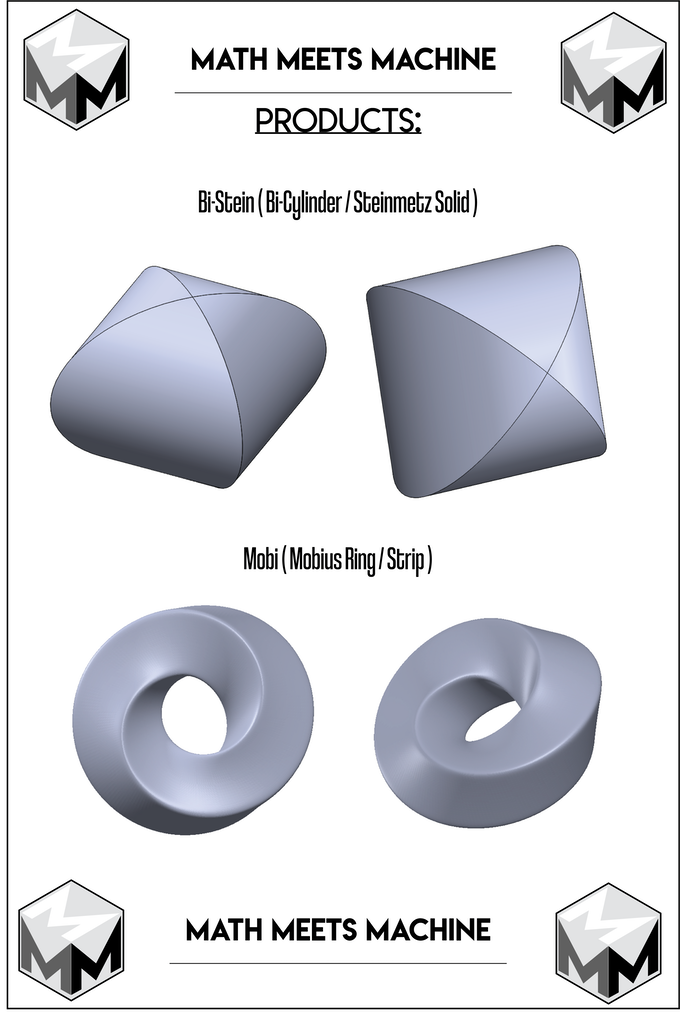 Here are the CAD models that the prototypes were made from for the Bi-Stein and Mobi