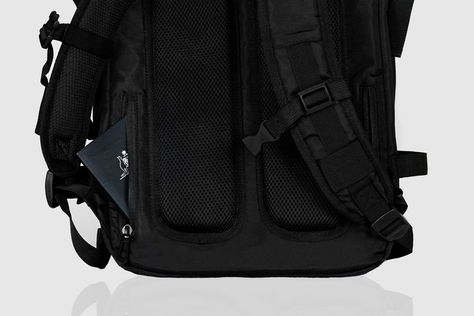 Hidden back pockets to keep your valuables secure!