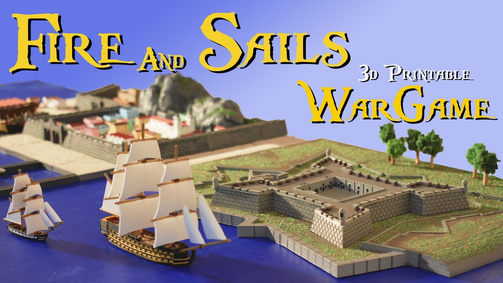 Project image for Fire and Sails
