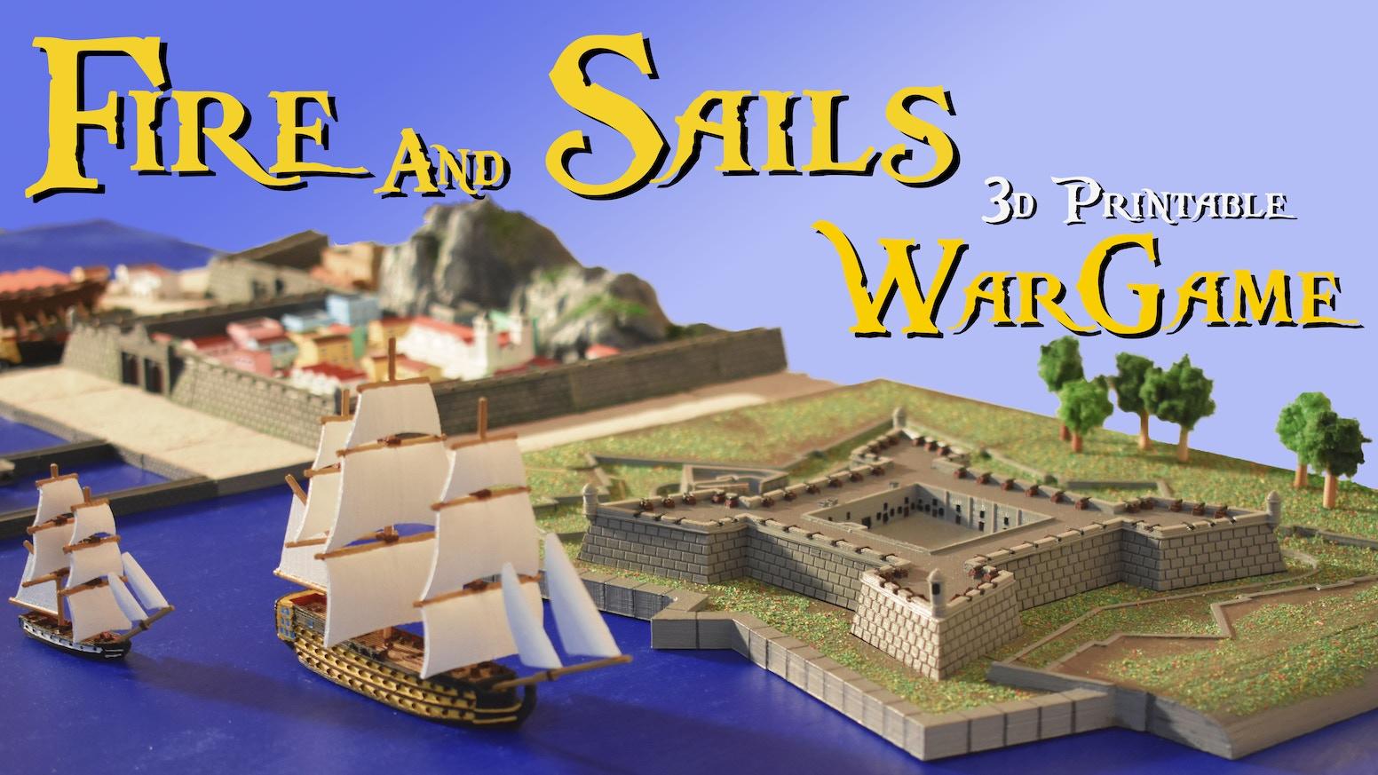 3d printable naval wargame. Download, print and play.