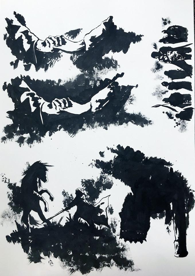 Original Art Page 2 - Sam Bentley - Cognition #3