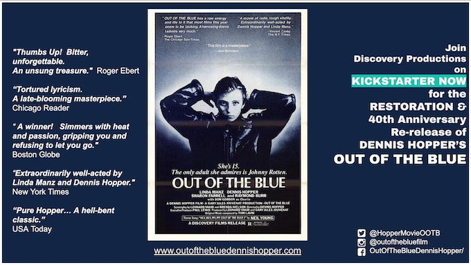 SAVE DENNIS HOPPER'S 'OUT OF THE BLUE'!