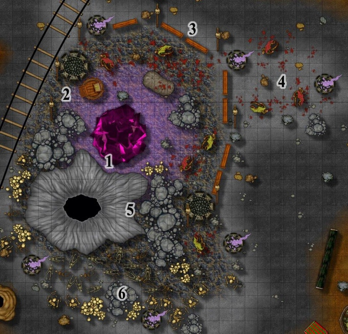 Map Sample (from Dark Obelisk 2: The Mondarian Elective)