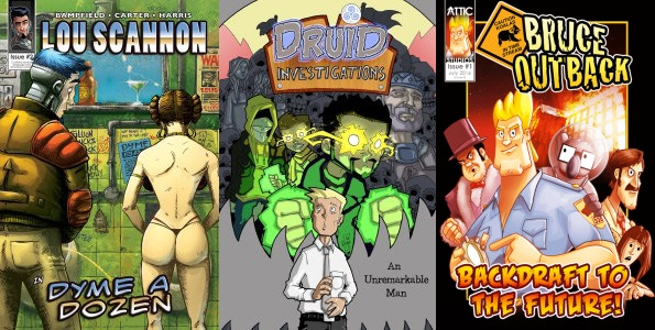 Examples of the other Attic Studios titles