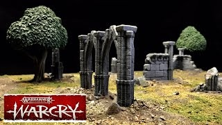 WARCRY Speed Build Gaming Table With 3D Printed Terrain (Click Above Thumbnail To Watch)