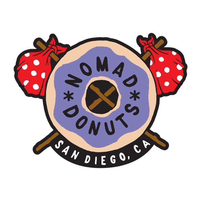A Sidewalk Cafe for Nomad Donuts