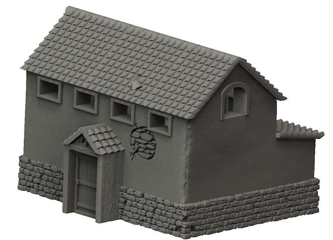 first roman building
