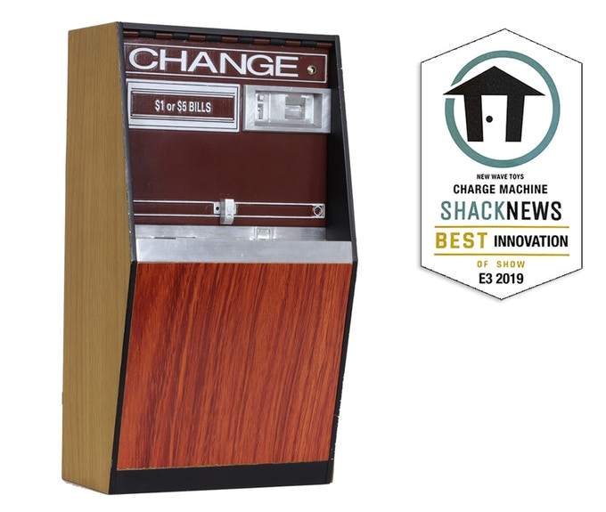 Minds were blown when we previewed the Charge Machine prototypes at E3 2019. Shack News even gave us an award for most innovative product!