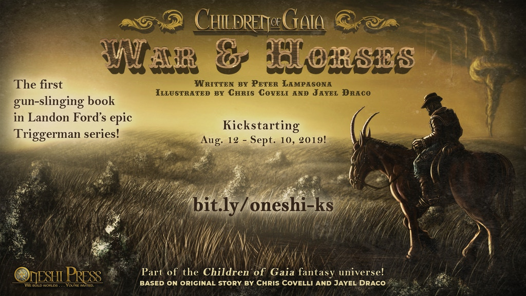 War and Horses | Illustrated Novel | Break Kickstarter project video thumbnail