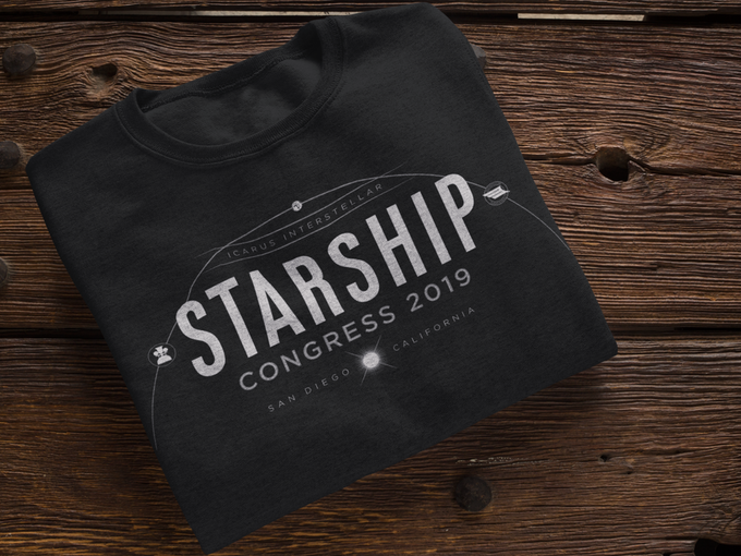 Modern, Rustic, TImeless - Starship Congress Tee by Chop Shop Studio