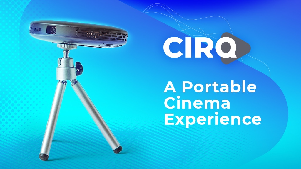 CIRQ: World's Smallest 1080p Projector project video thumbnail
